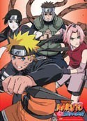 Naruto Shippuuden Wall Scroll