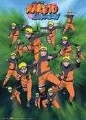 Naruto Shippuuden Kage Bunshin no Jutsu Wall Scroll
