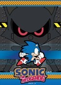 Sonic the Hedgehog Sonic Running Wall Scroll