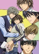 Junjo Romantica Group Wall Scroll