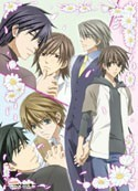 Junjo Romantica Floral Group Wall Scroll