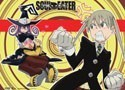 Soul Eater Maka, Soul, Blair Wall Scroll