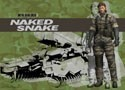 Metal Gear Solid Naked Snake Wall Scroll (U.S. Customers Only)
