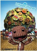 Little Big Planet Wall Scroll
