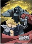 Fullmetal Alchemist Brotherhood Wall Scroll