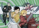 Fullmetal Alchemist Brotherhood Wall Scroll (U.S. Customers Only)