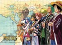 One Piece Crew Wall Scroll