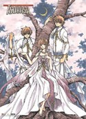 Tsubasa Reservoir Chronicle Syaoran and Sakura Wall Scroll