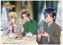 Hetalia Axis Powers Tea Time Wall Scroll (U.S. Customers Only)