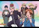 Hetalia Axis Powers Musical Group Wall Scroll (U.S. Customers Only)