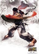 Street Fighter Ryu Wall Scroll