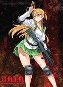 High School of the Dead Wall Scroll
