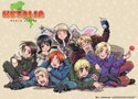 Hetalia Axis Powers World Series Wall Scroll Poster (U.S. Customers Only)