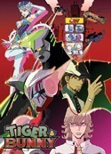Tiger and Bunny Group Wall Scroll