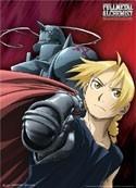 Fullmetal Alchemist Ed and Al Wall Scroll