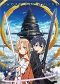 Sword Art Online Kirito, Asuna Wall Scroll Poster