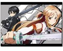 Sword Art Online Kirito and Asuna Wall Scroll (U.S. Customers Only)