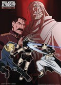 Fullmetal Alchemist Villains Wall Scroll
