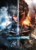 Metal Gear Rising Wall Scroll