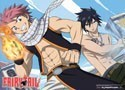 Fairy Tail Natsu and Gray Wall Scroll