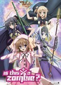 Kore Wa Zombie Desu Ka? Group Wall Scroll Poster