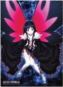 Accel World Kuroyukihime Wall Scroll