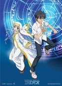 To Aru Majutsu no Index Touma and Index Wall Scroll