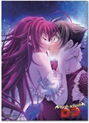 High School DXD Kiss Wall Scroll Poster