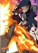 Naruto Shippuuden Naruto and Bad Guys Wall Scroll Poster