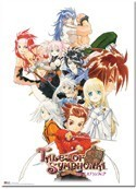 Tales of Symphonia Group Key Art Wall Scroll Poster
