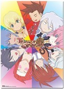 Tales of Symphonia Group Sections Wall Scroll Poster