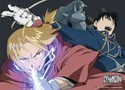 Fullmetal Alchemist Ed and Roy Wall Scroll Poster (U.S. Customers Only)