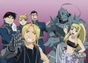 Fullmetal Alchemist Group Wall Scroll Poster (U.S. Customers Only)