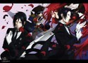 Black Butler Pirate Group Wall Scroll Poster (U.S. Customers Only)