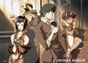 Cowboy Bebop Sepia Group Wall Scroll Poster (U.S. Customers Only)