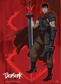 Berserk Gutts Wall Scroll Poster