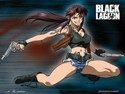 Black Lagoon Revy Wall Scroll Poster (U.S. Customers Only)