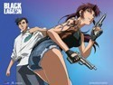 Black Lagoon Revy and Rock Wall Scroll Poster (U.S. Customers Only)
