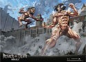 Attack on Titan Eren Titan Wall Scroll Poster (U.S. Customers Only)