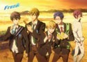 Free! - Iwatobi Swim Club Group Sunset Wall Scroll Poster (U.S. Customers Only)
