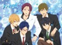 Free! - Iwatobi Swim Club Group Blue BG Wall Scroll Poster (U.S. Customers Only)