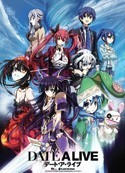 Date a Live Group Wall Scroll Poster