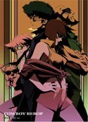 Cowboy Bebop Spike and Faye Wall Scroll Poster