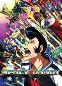 Space Dandy Group Wall Scroll Poster