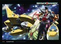 Space Dandy Group Wall Scroll Poster (U.S. Customers Only)