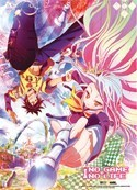 No Game No Life Shiro and Sora Wall Scroll Poster
