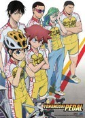 Yowamushi Pedal Key Art Wall Scroll Poster