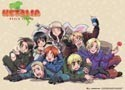 Hetalia Axis Powers World Series Cloth Poster 33x43 inches