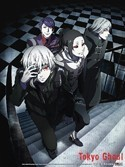 Tokyo Ghoul Group Wall Scroll Poster