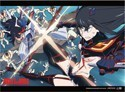 Kill La Kill Group Wall Scroll Poster (U.S. Customers Only)